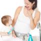 Tandenpoetsen baby